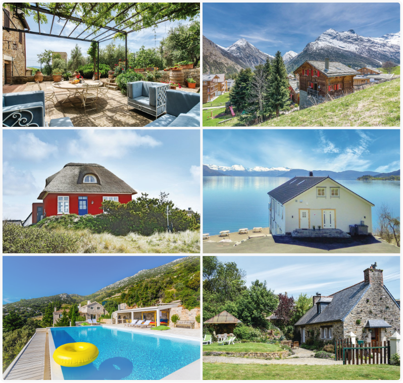 50,000 holiday homes in 19 countries.