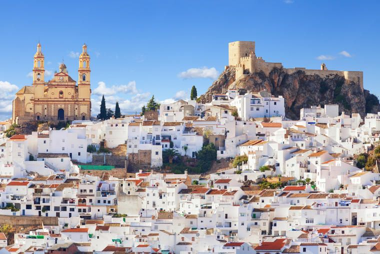 White towns of Andalusia attractions